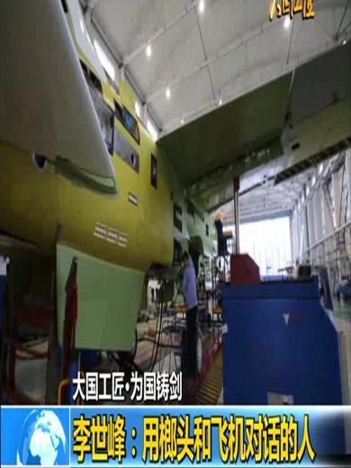 李世峰:用榔头和飞机对话的人