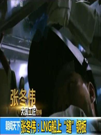 """张冬伟:LNG船上""""缝""""钢板"""